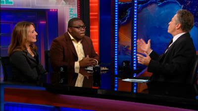The Daily Show with Trevor Noah Season 18 :Episode 22  Katie Dellamaggiore & Pobo Efekoro