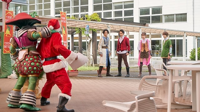 Super Sentai Season 43 :Episode 39  The Stolen Christmas