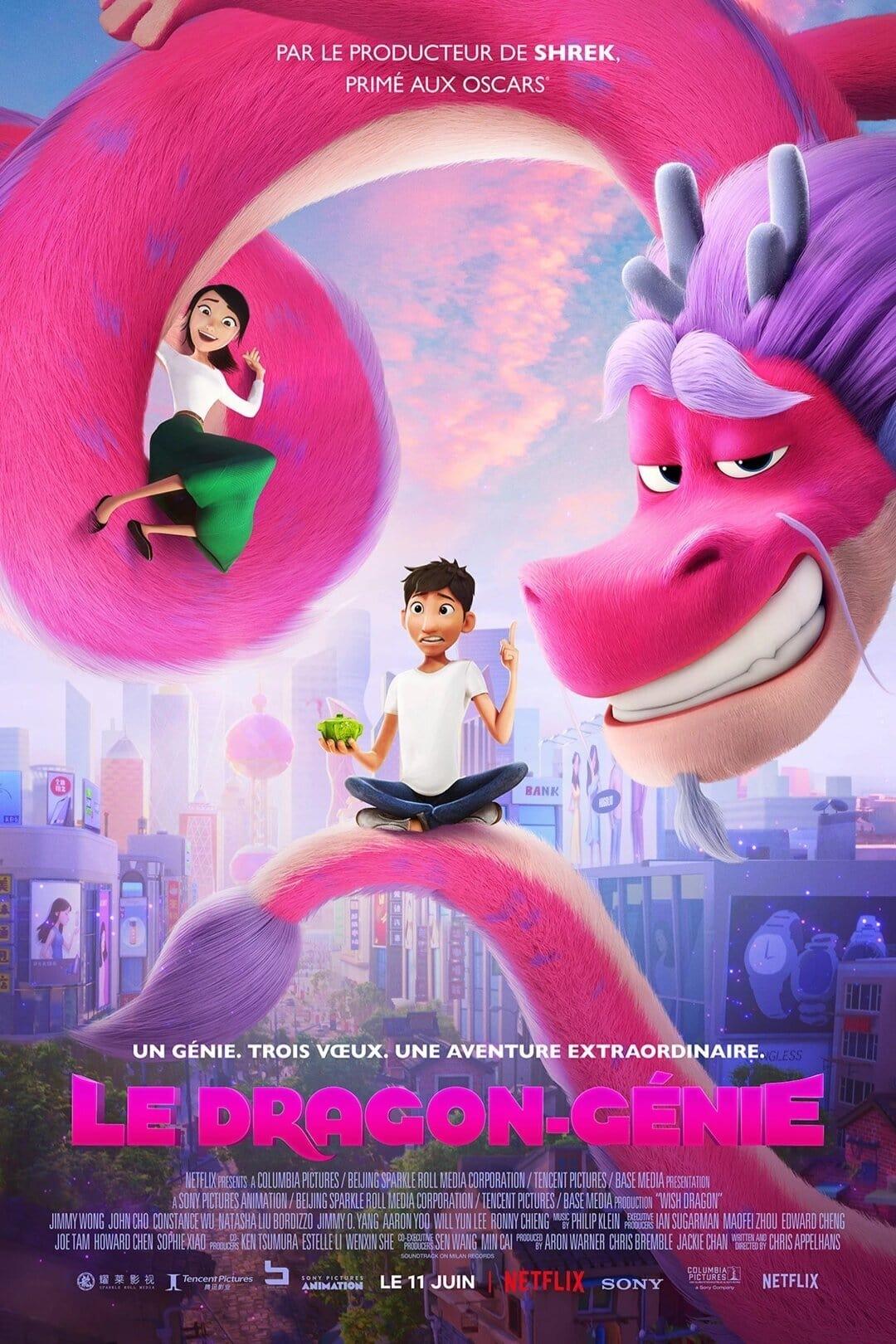 Le Dragon-Génie ( Wish Dragon ) Film VF