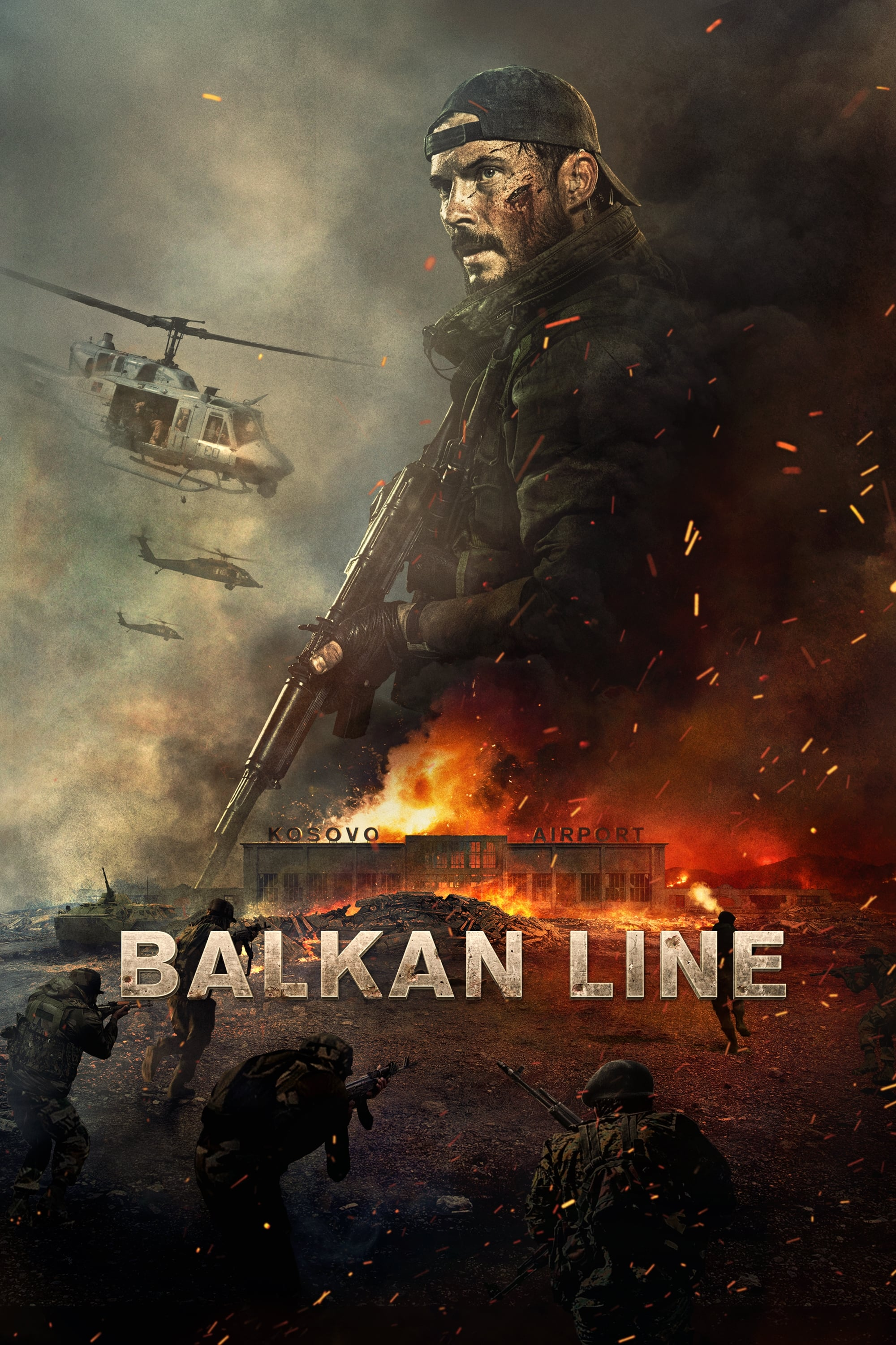 voir film The Balkan Line streaming