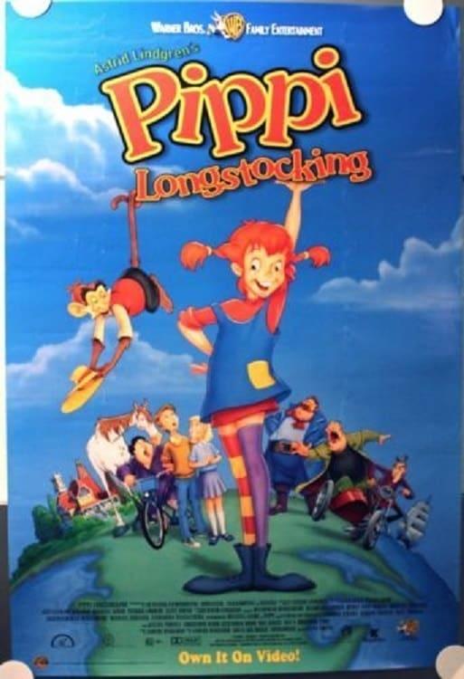 Pippi Longstocking Cartoon (1998)