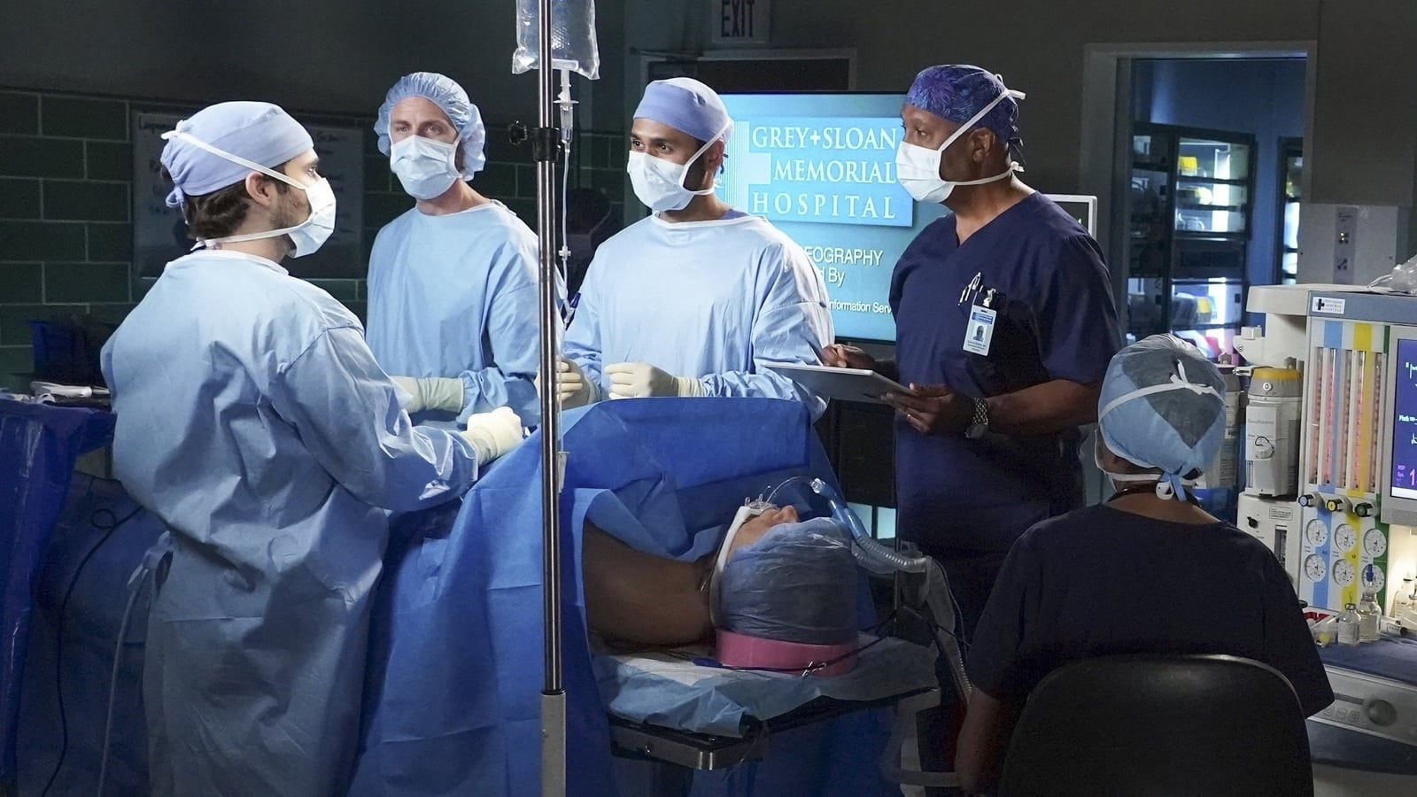 Grey's Anatomy Season 18 :Episode 4  With a Little Help From My Friends