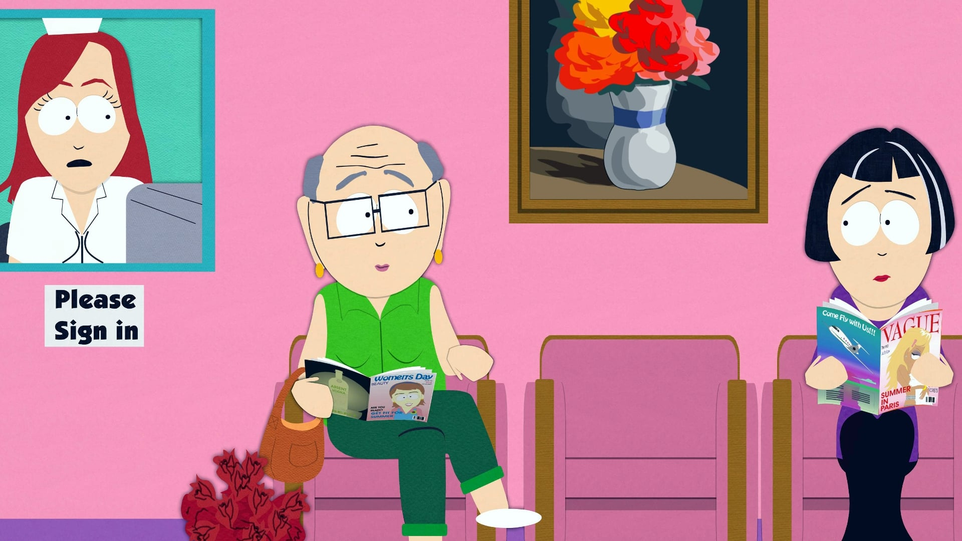 South Park Season 9 :Episode 1  Mr. Garrison's Fancy New Vagina