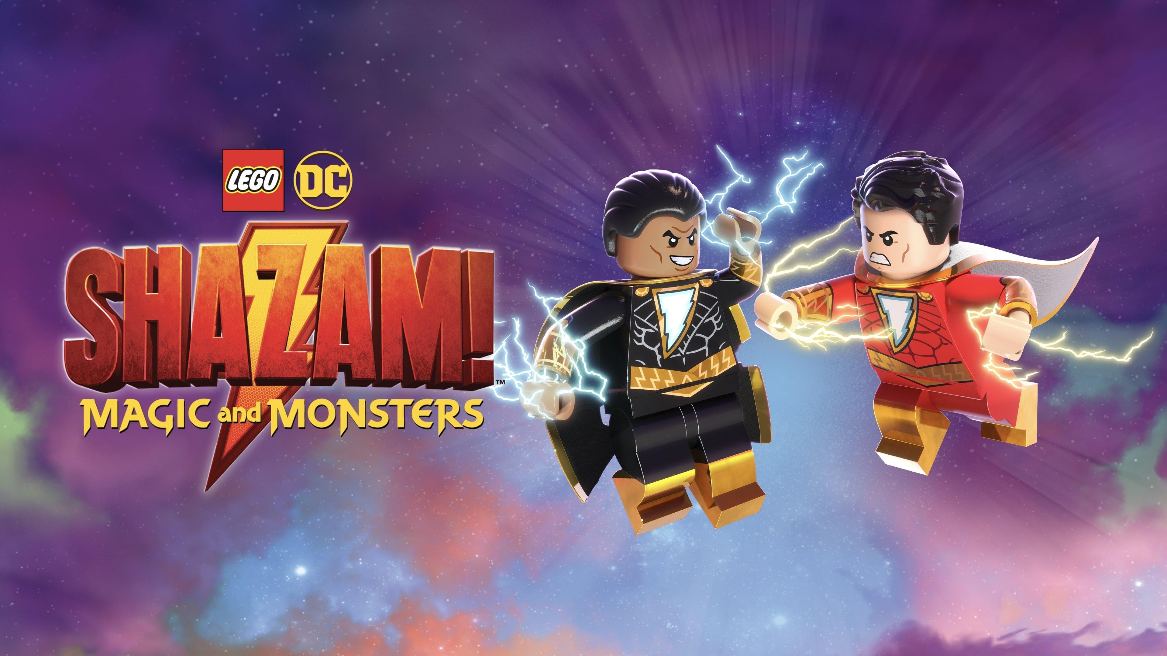 LEGO DC: ¡Shazam! Magia y Monstruos (2020) BDRip 1080p Latino-Inglés