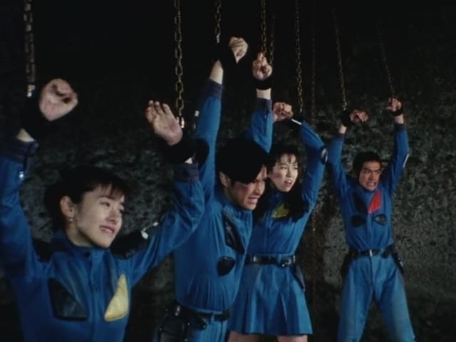 Super Sentai Season 19 :Episode 42  The Sentai's Public Execution!!