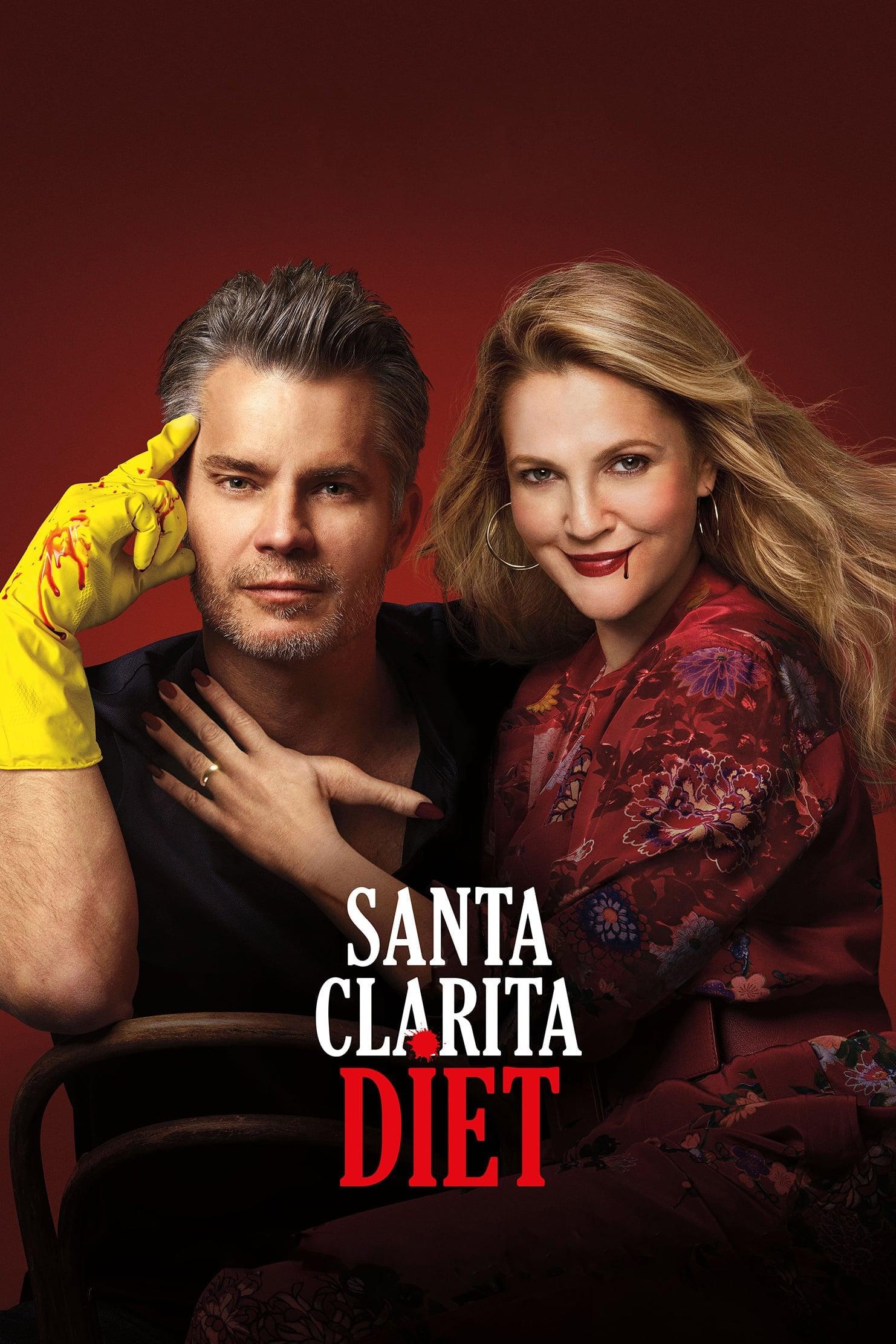 Santa Clarita Diet 3ª Temporada poster, capa, cartaz