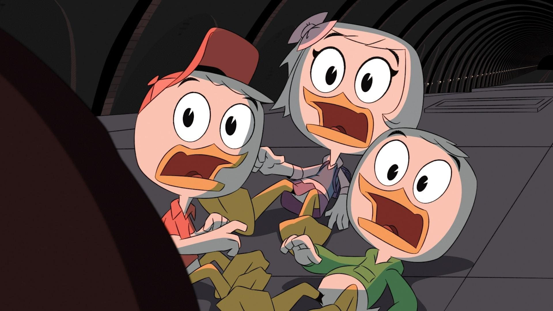 DuckTales Season 1 :Episode 5  Terror of the Terra-Firmians!