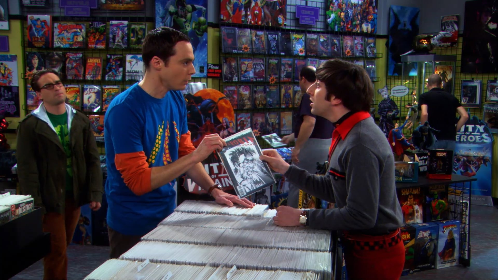 The Big Bang Theory Season 2 :Episode 20  The Hofstadter Isotope