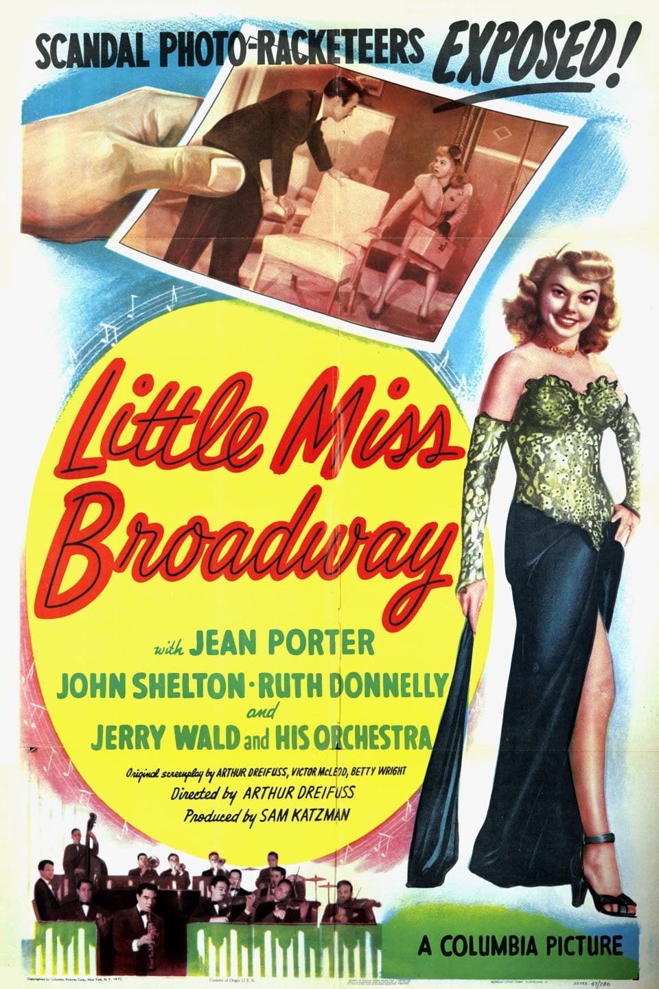 Ver Little Miss Broadway Online HD Español (1947)