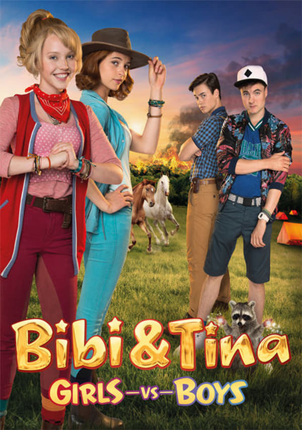Póster Bibi y Tina: Chicas contra chicos