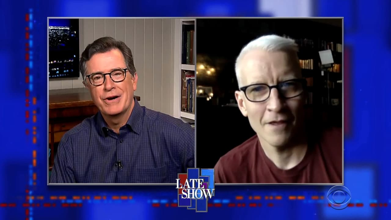 The Late Show with Stephen Colbert Season 5 :Episode 126  Anderson Cooper / Mark Foster