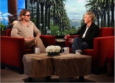 The Ellen DeGeneres Show Season 9 :Episode 9  Brad Pitt, Chris Pratt, Kelly Clarkson