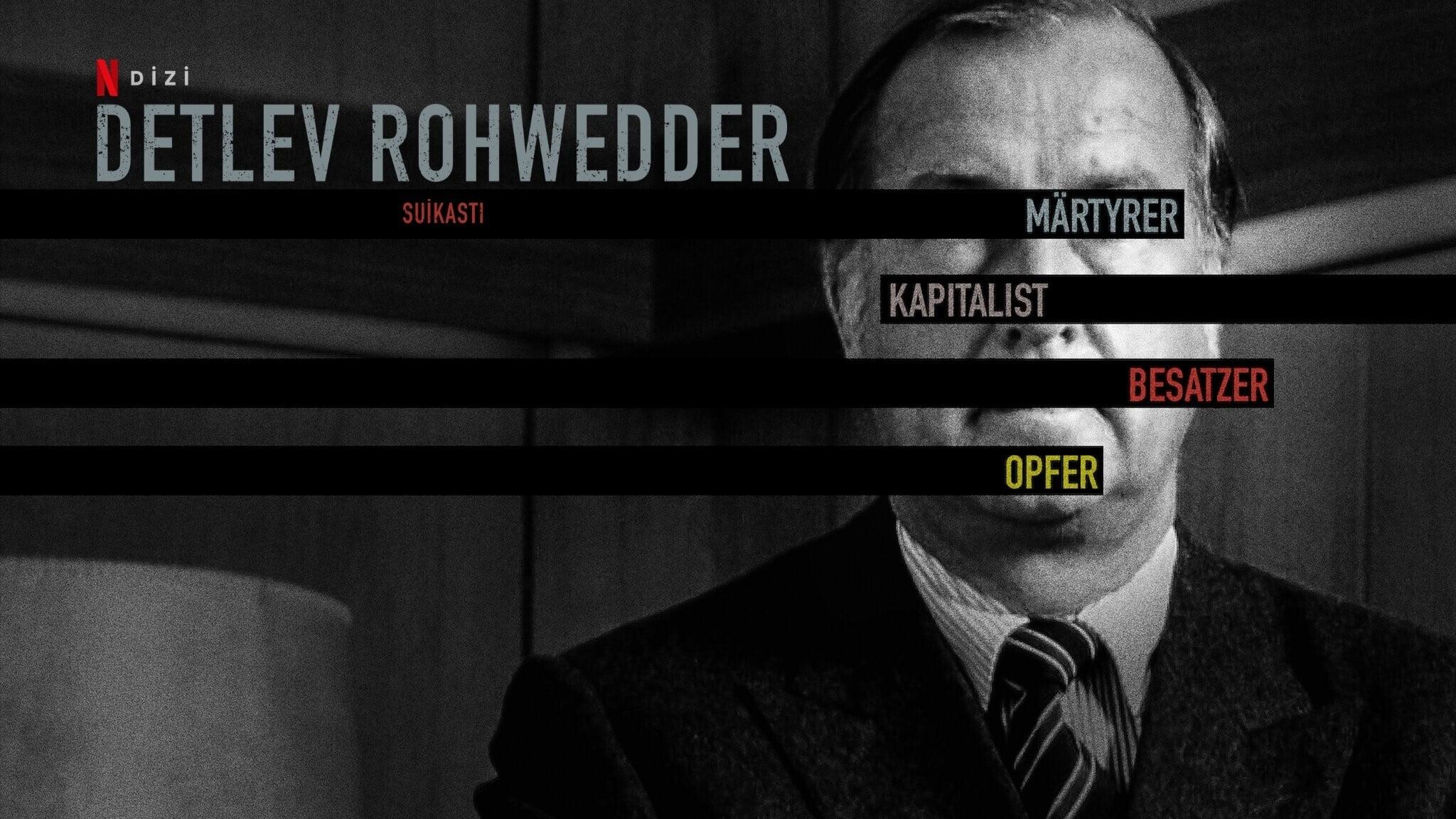 Detlev Rohwedder: Un crimen perfecto