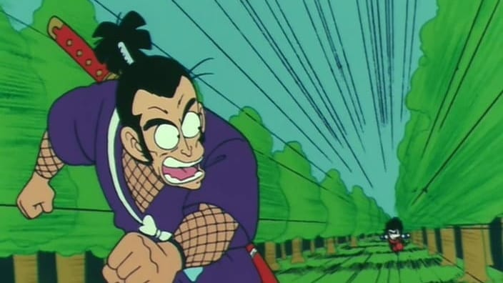 Dragon Ball Season 1 :Episode 37  Ninja Murasaki is Coming!
