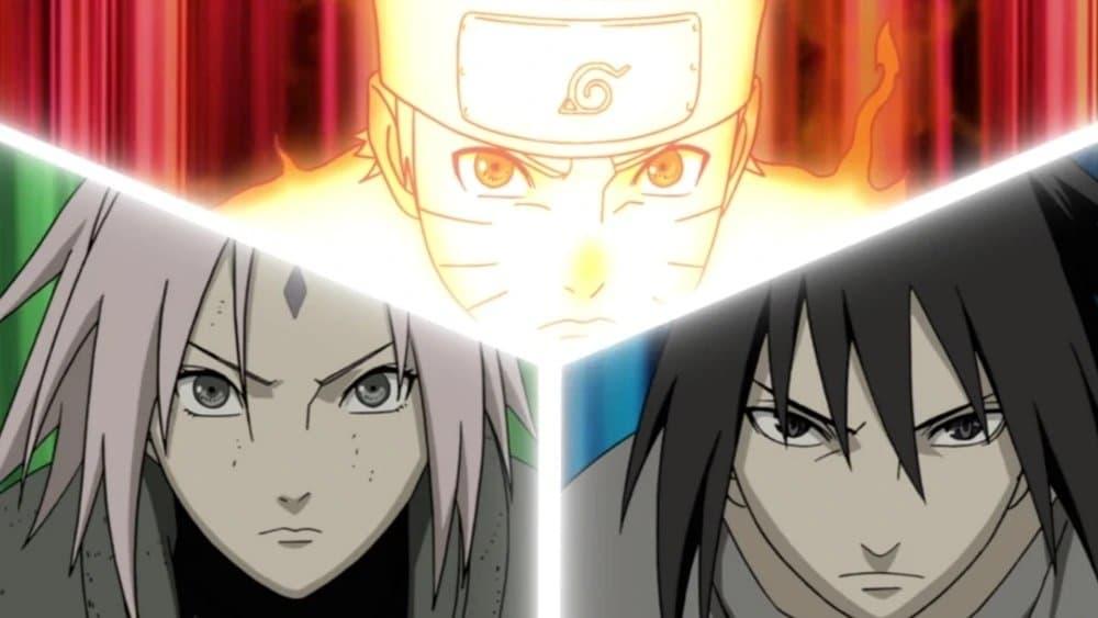 Naruto Shippūden Season 18 :Episode 374  The New Three-Way Deadlock