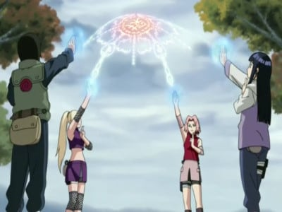 Naruto Shippūden Season 5 :Episode 103  The Four-Corner Sealing Barrier