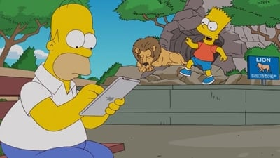 The Simpsons Season 24 :Episode 6  A Tree Grows in Springfield