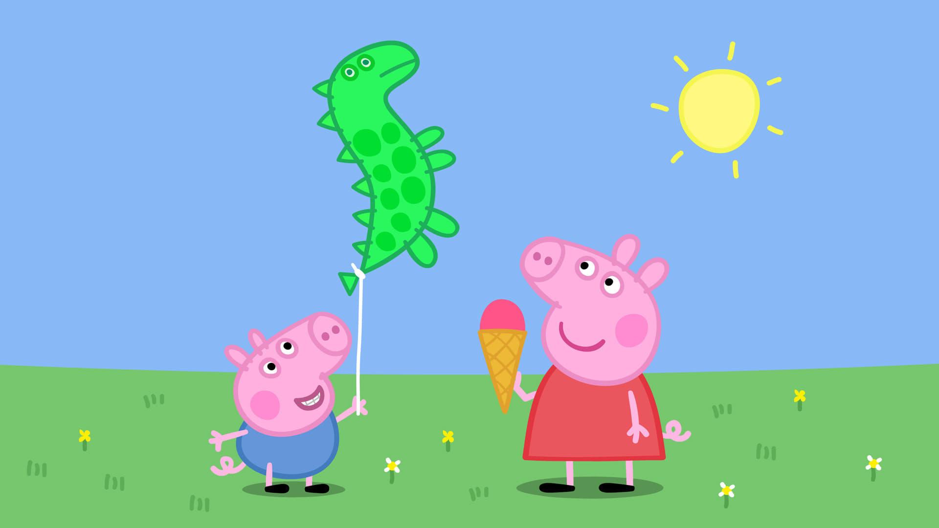 Peppa Pig Season 4 :Episode 46  George's Balloon