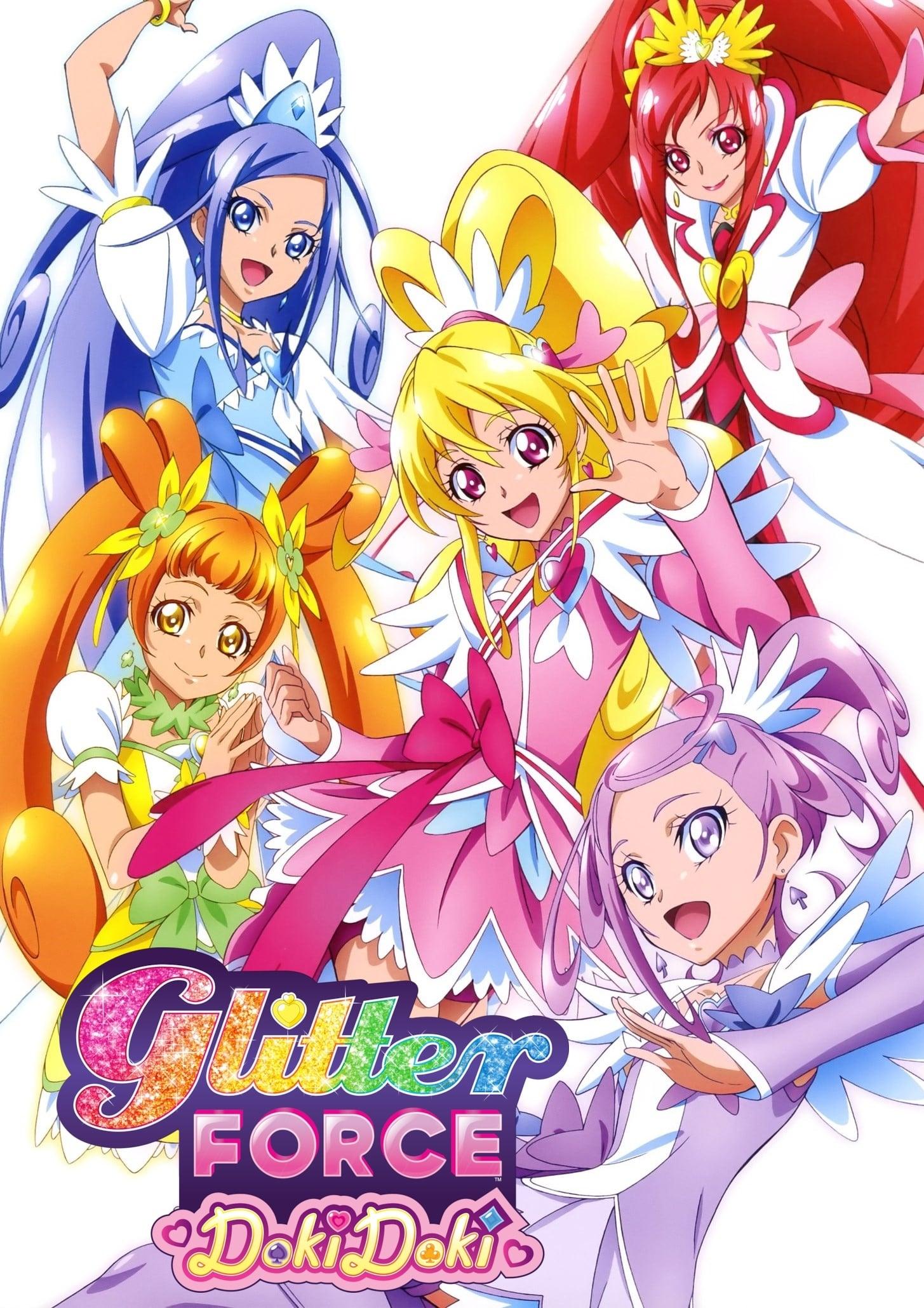Glitter Force Doki Doki TV Shows About Female Protagonist