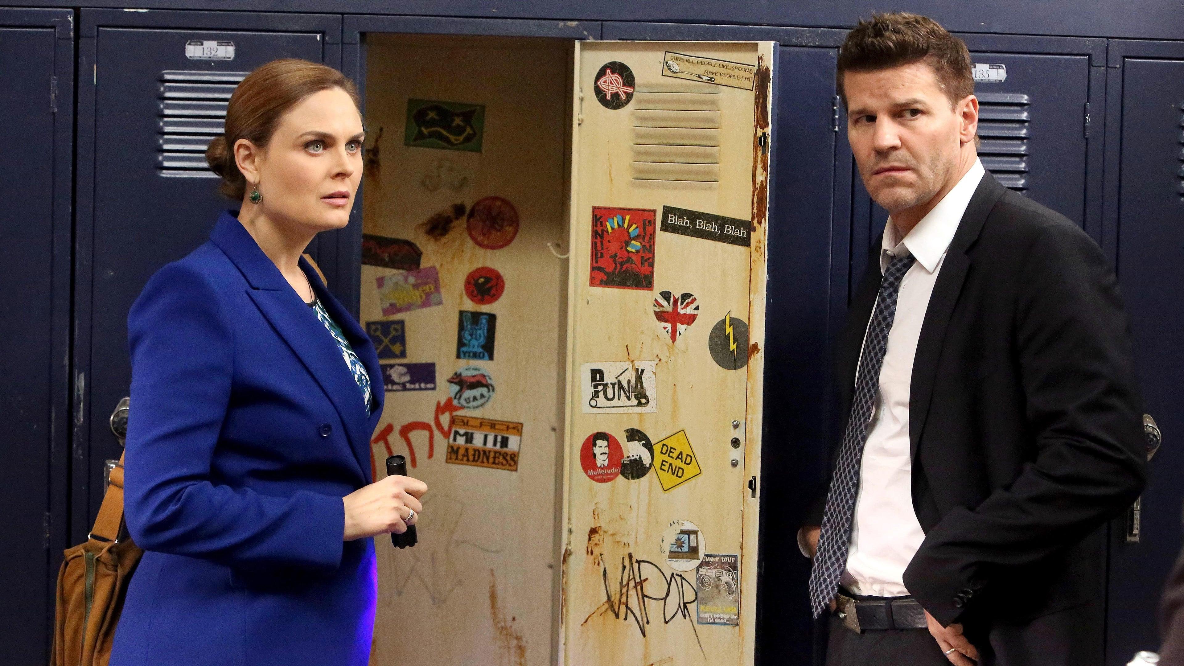 Bones Season 10 :Episode 12  The Teacher in the Books