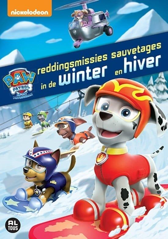 Paw Patrol - Volume 4: Reddingsmissies In De Winter