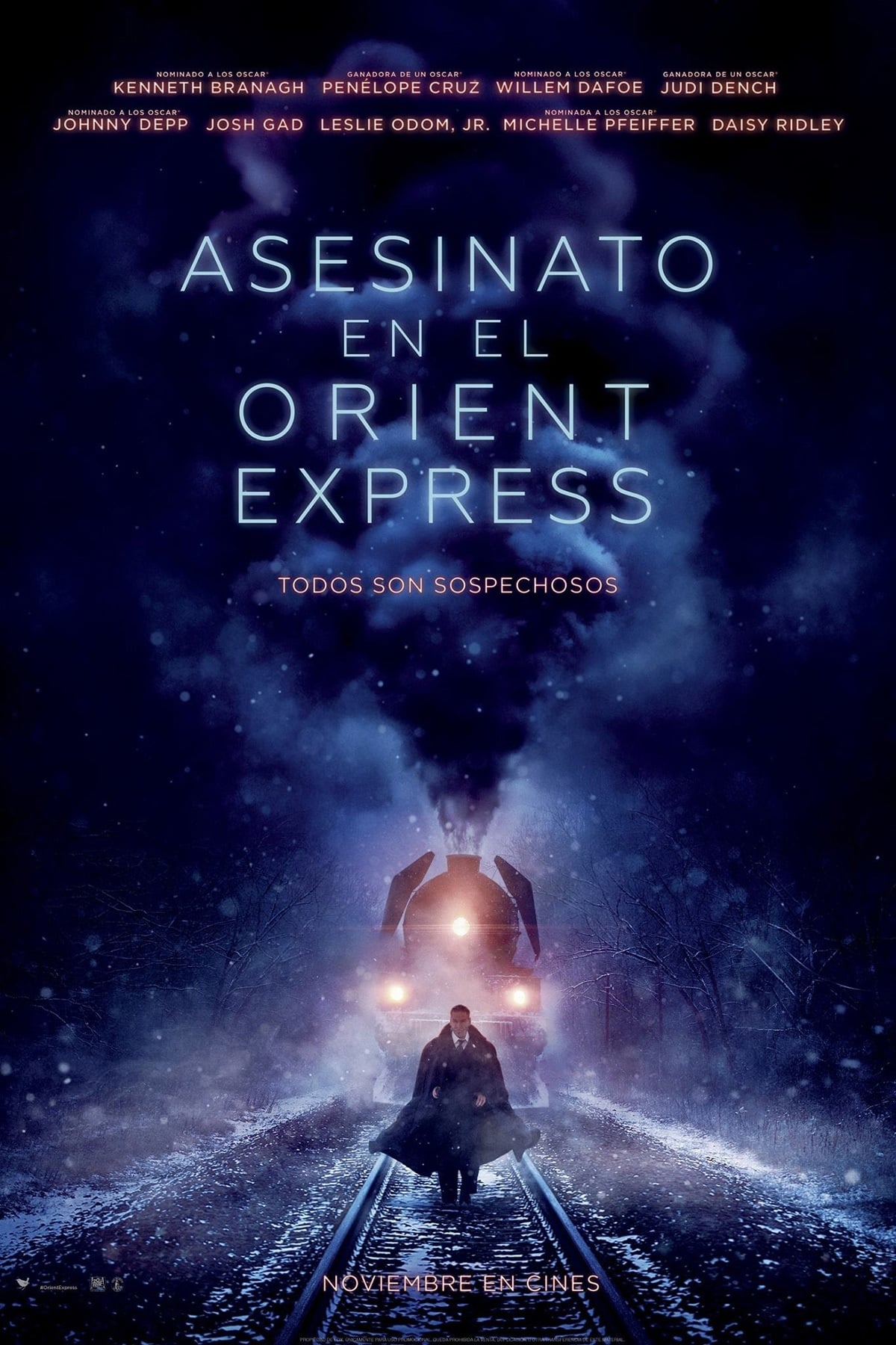 Poster and image movie Film Crima din Orient Express - Murder on the Orient Express - Murder on the Orient Express - Murder on the Orient Express -  2017