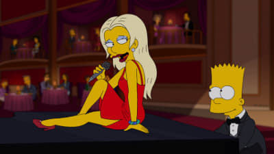 The Simpsons Season 24 :Episode 20  The Fabulous Faker Boy