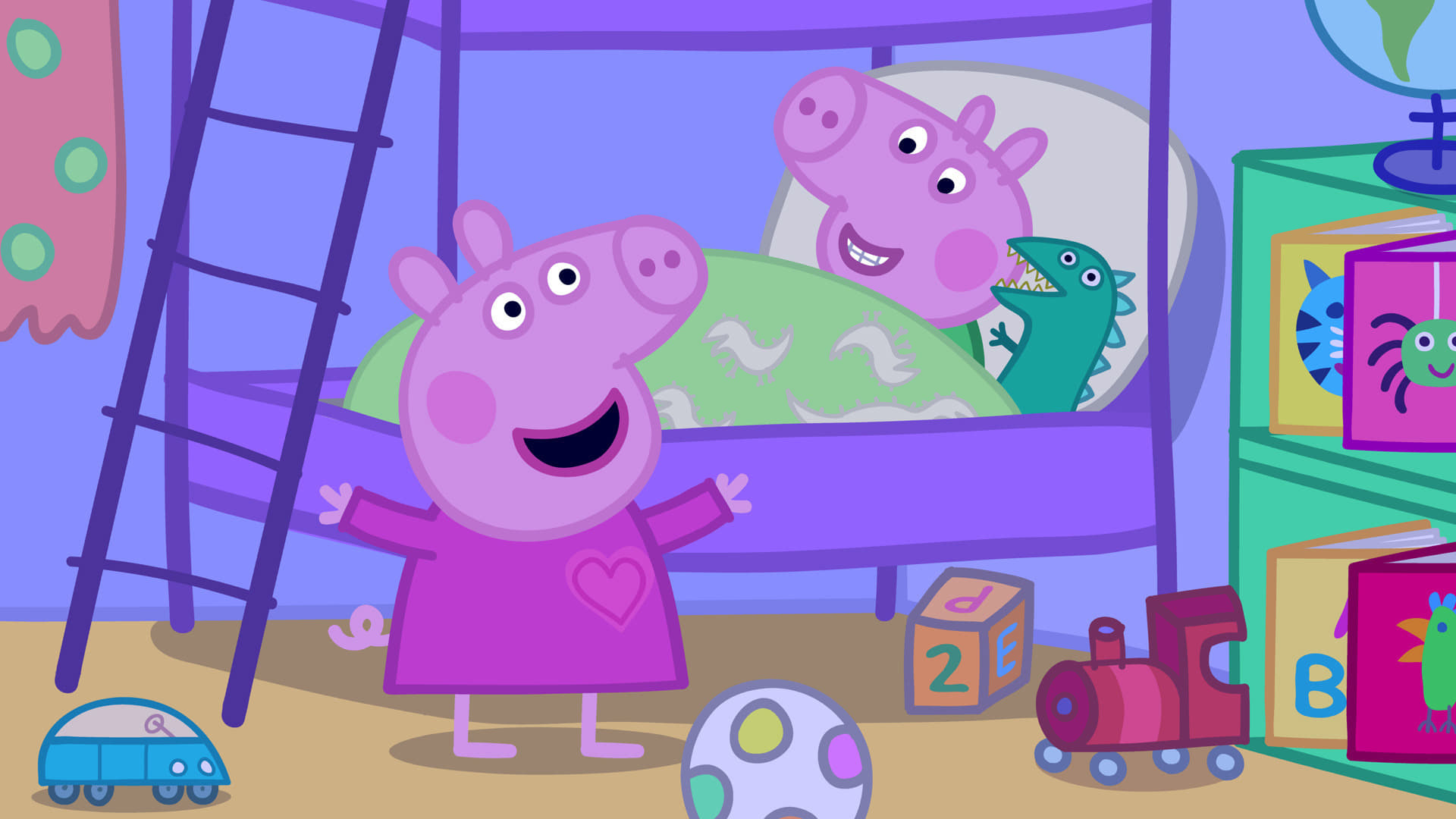 Peppa Pig Season 4 :Episode 17  Bedtime Story