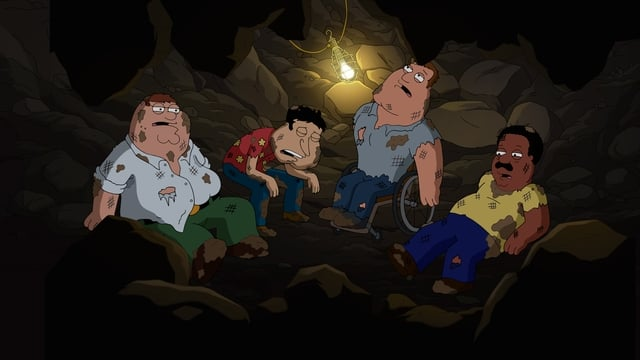 Family Guy Season 18 :Episode 12  Undergrounded