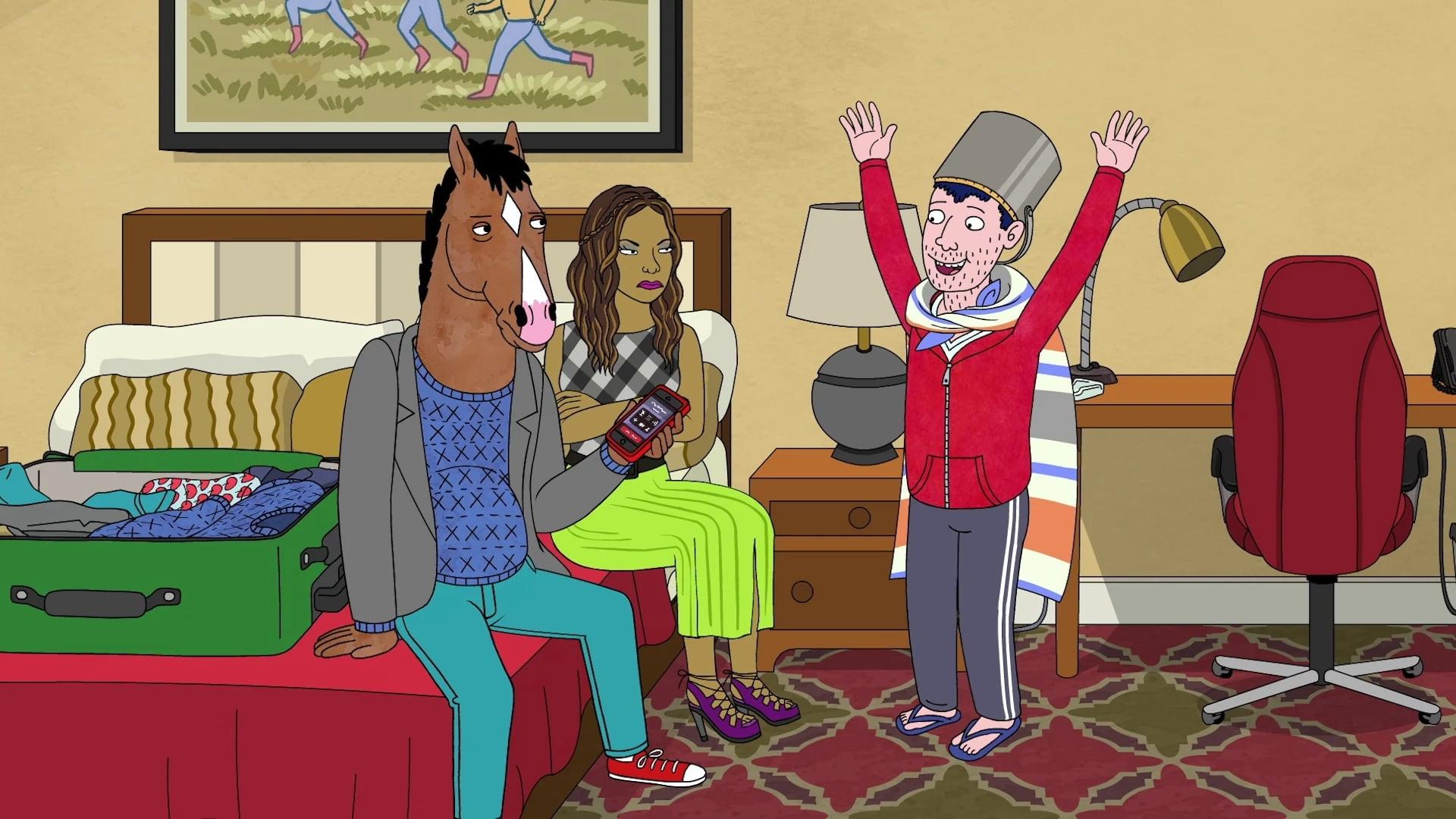 BoJack Horseman Season 3 :Episode 1  Start Spreading the News