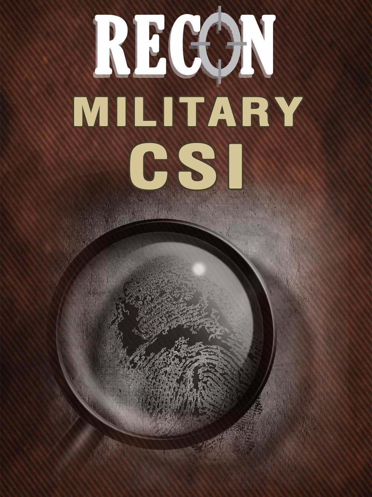 Recon - Military CSI on FREECABLE TV