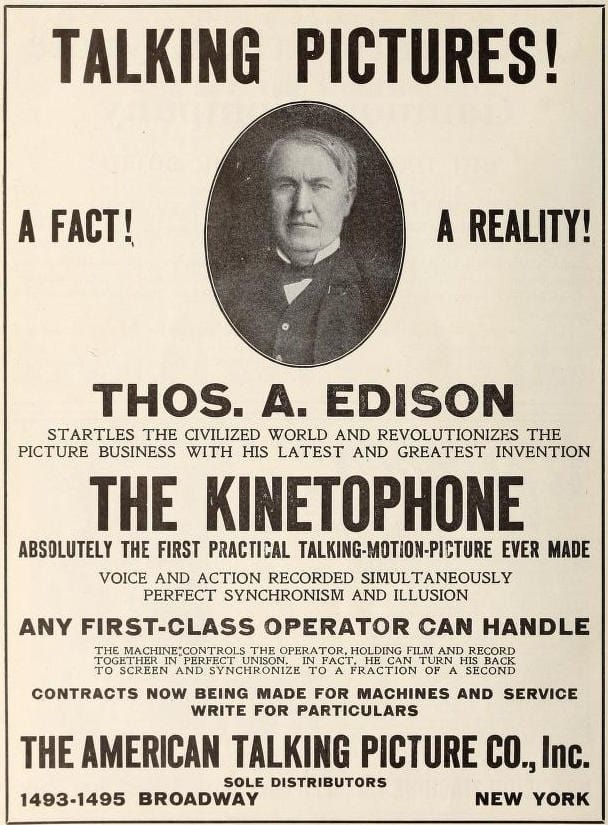 The Edison Kinetophone