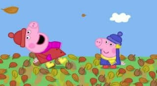 Peppa Pig Season 2 :Episode 8  Windy Autumn Day