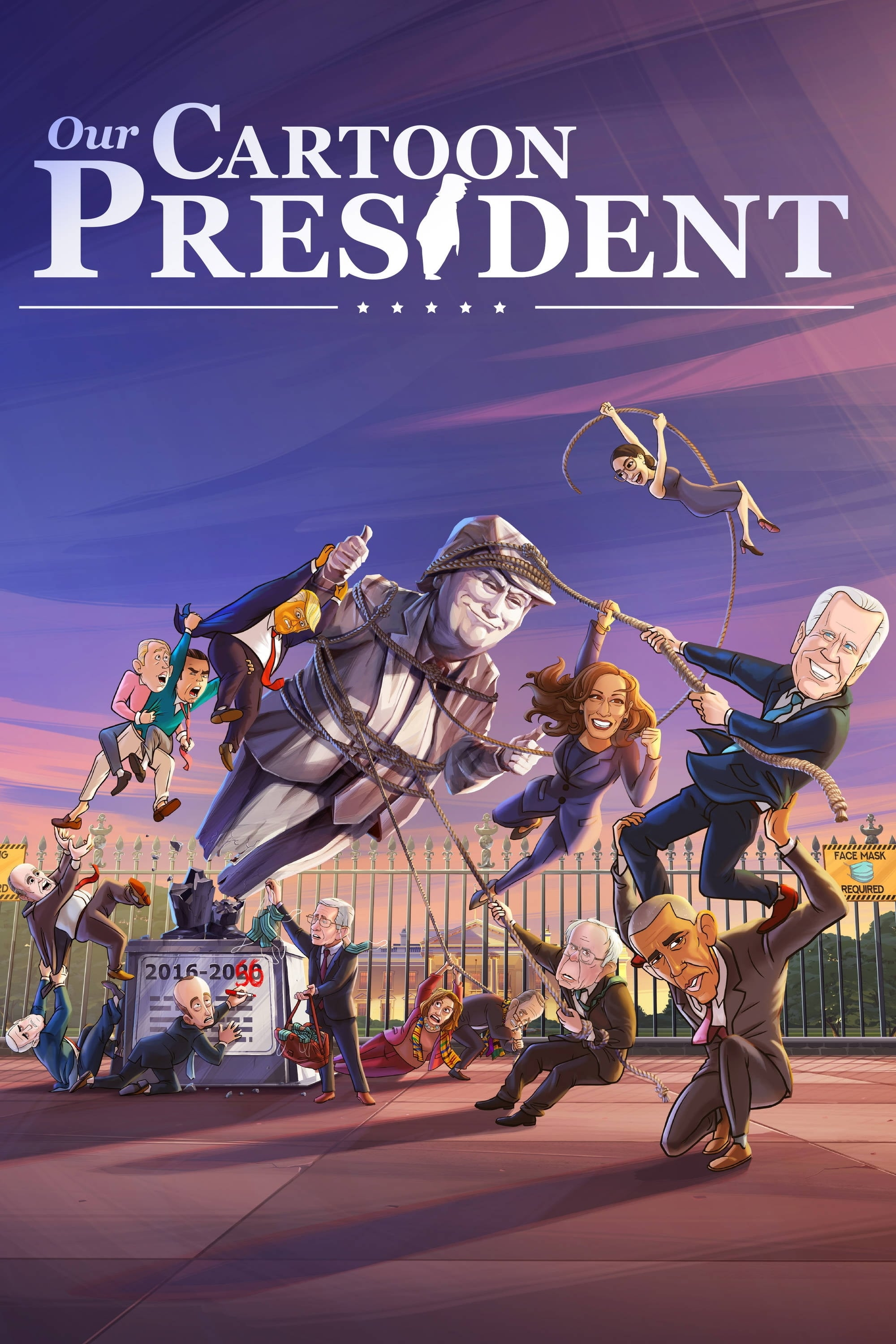 Our Cartoon President TV Shows About Adult Animation