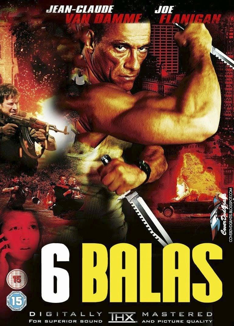 6 Balas poster, capa, cartaz