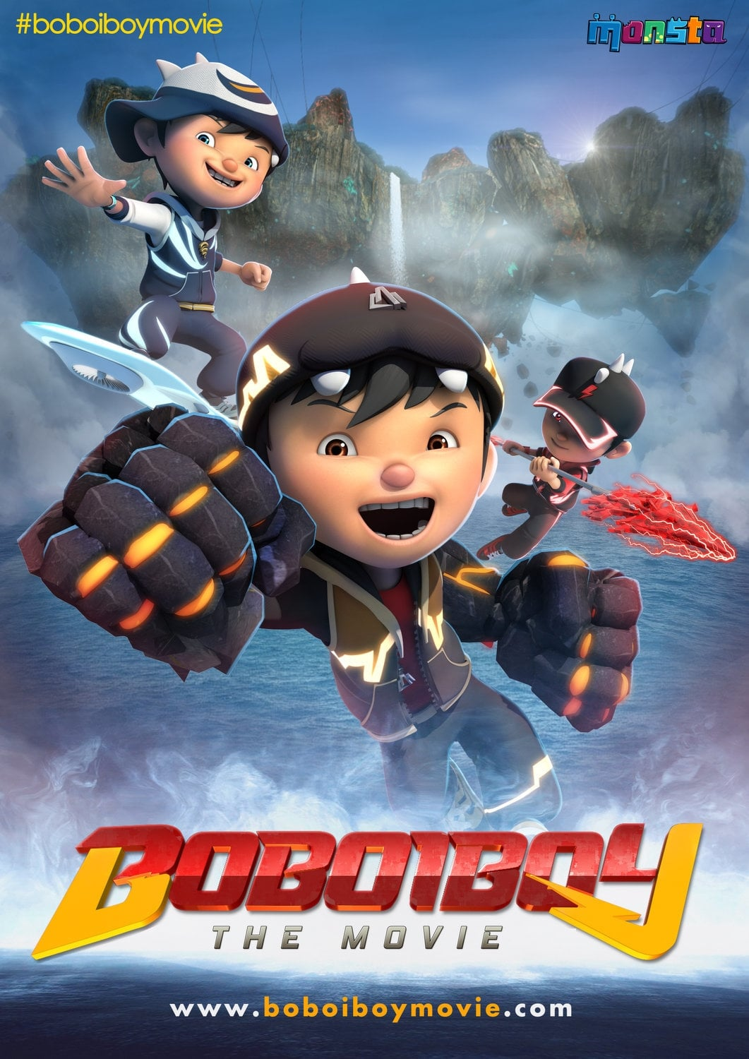 Boboiboy The Movie 2016 Posters The Movie Database Tmdb