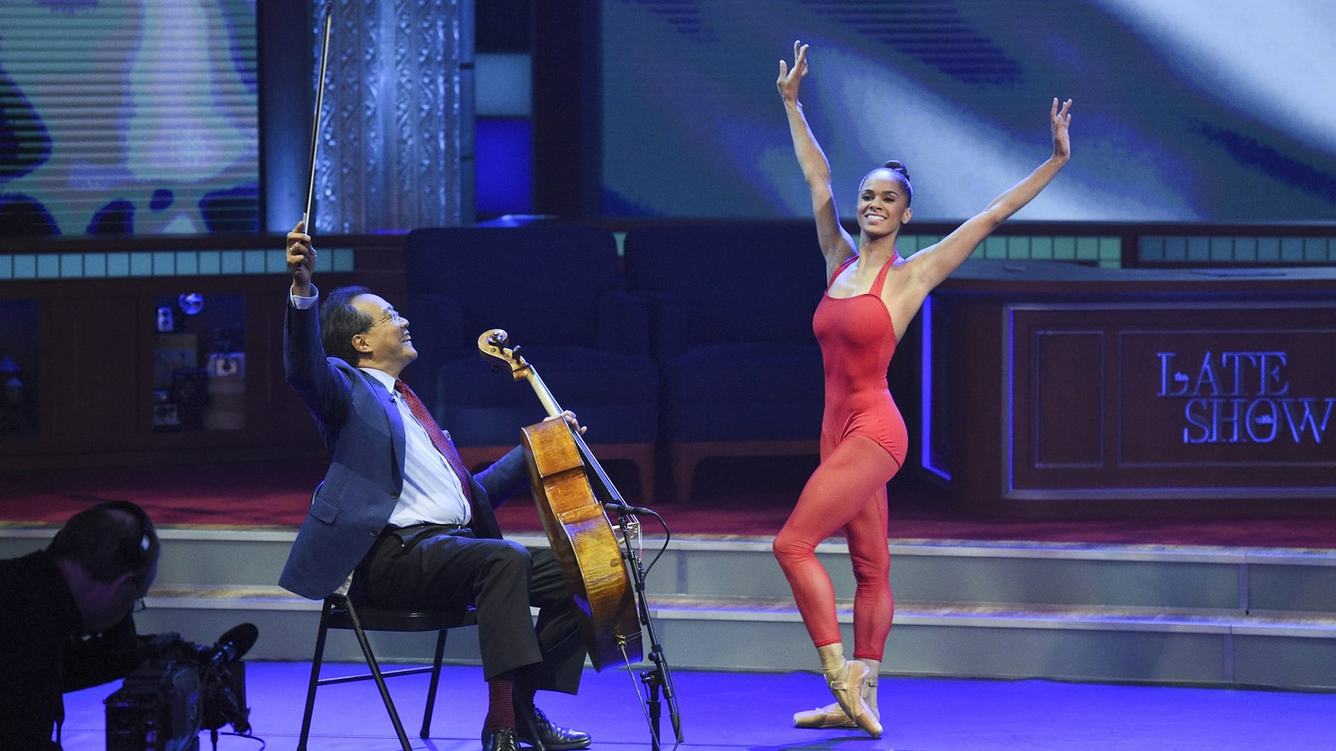 The Late Show with Stephen Colbert Season 1 :Episode 20  Senator John McCain, Yo-Yo Ma, Misty Copeland