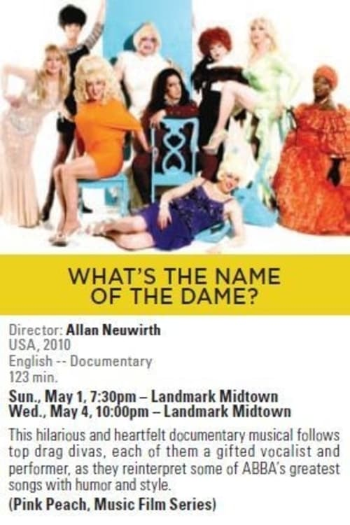 Ver What's the Name of the Dame? Online HD Español (2009)