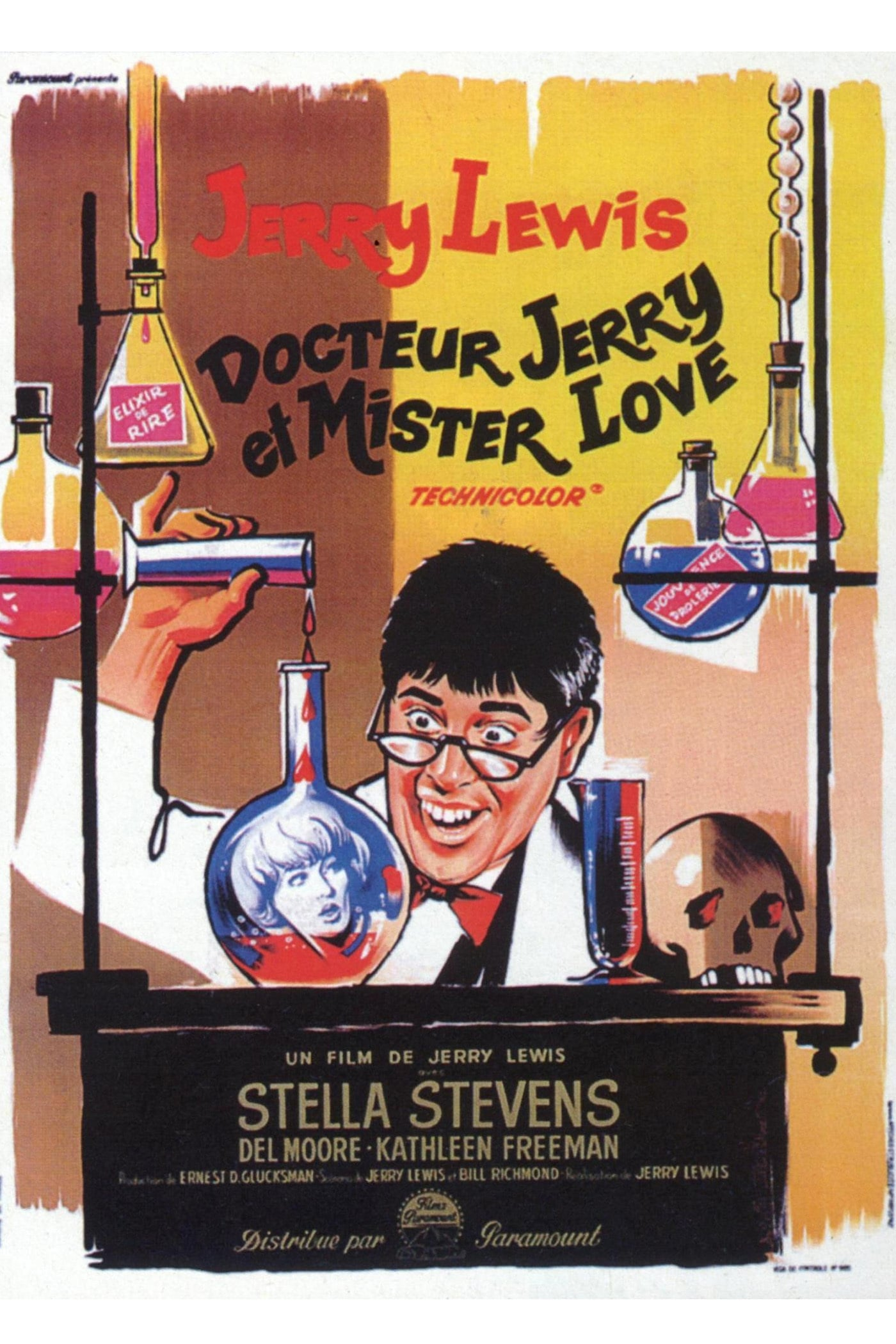 voir film Docteur Jerry et Mister Love streaming