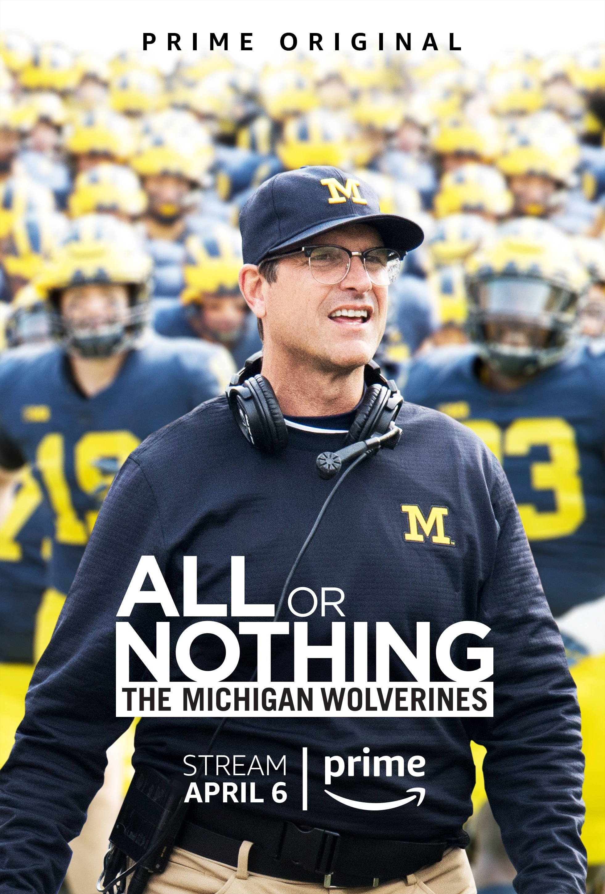 All or Nothing: The Michigan Wolverines TV Shows About American Football