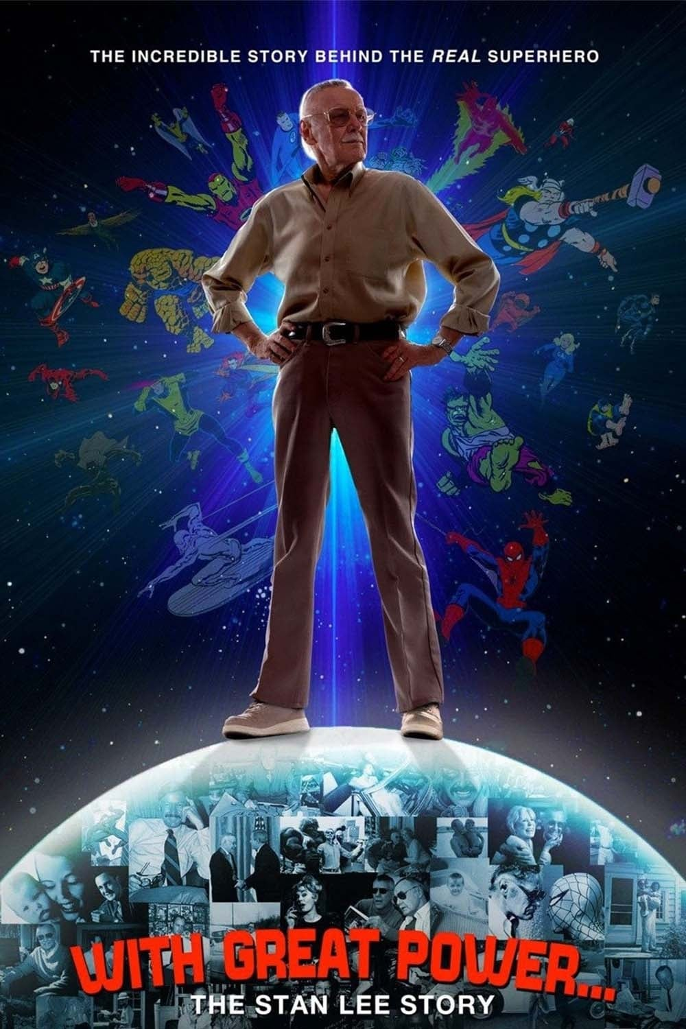 With Great Power: The Stan Lee Story on FREECABLE TV