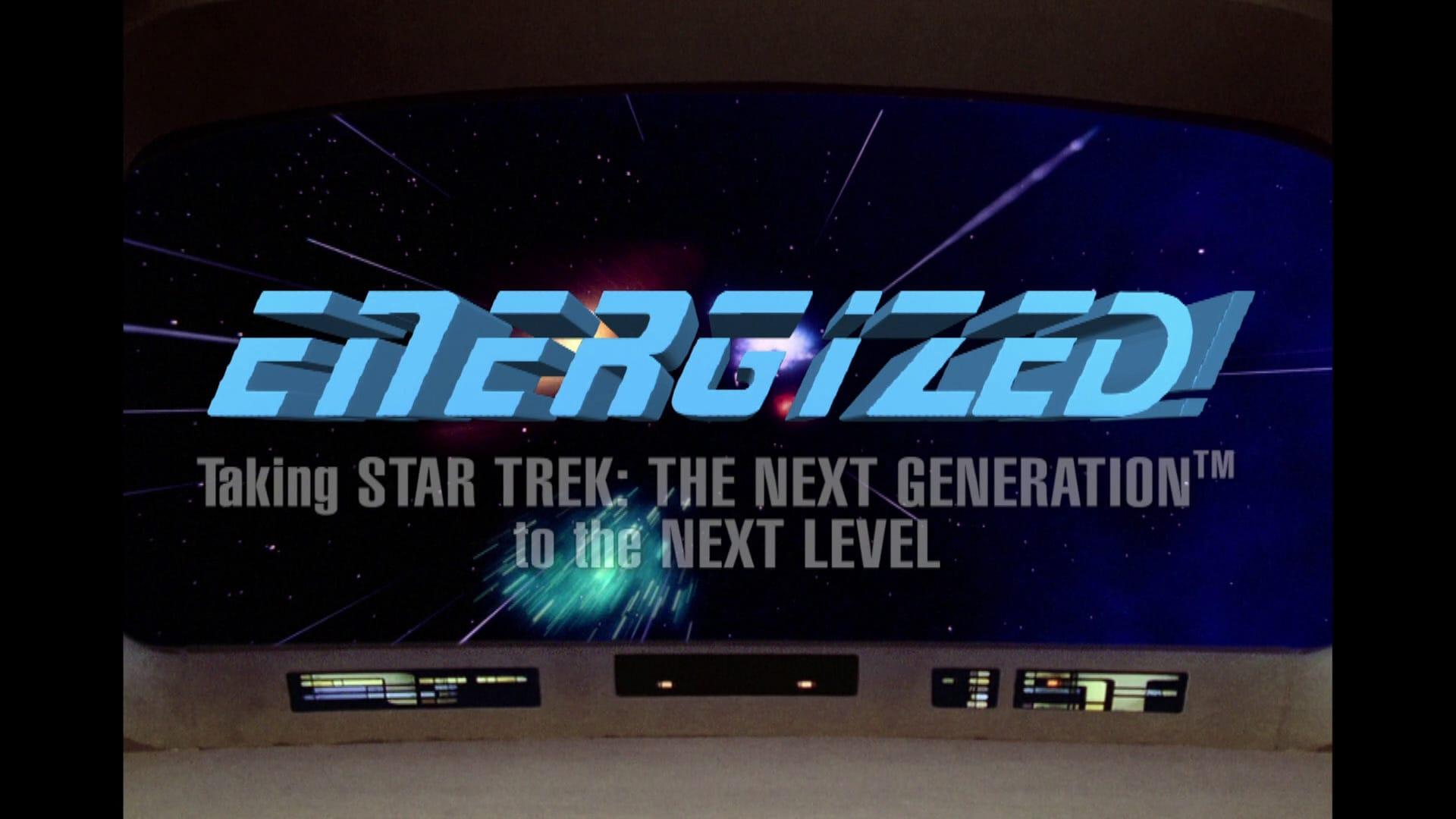 Energized! Taking Star Trek: The Next Generation to the Next Level-Azwaad Movie Database