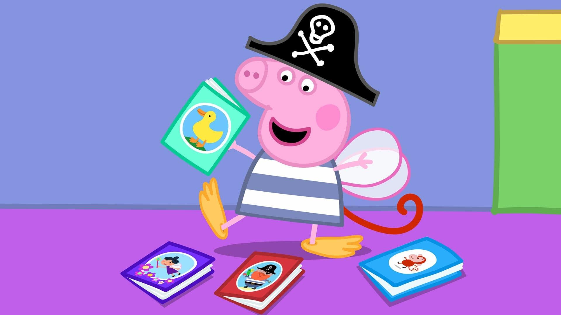 Peppa Pig Season 6 :Episode 13  World Book Day