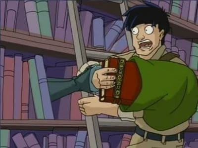 Jackie Chan Adventures Season 2 :Episode 13  Queen of the Shadowkhan