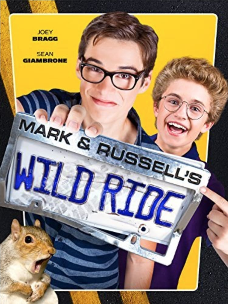 Póster Mark & Russell's Wild Ride