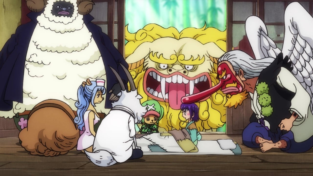 One Piece Season 21 :Episode 918  It's On! The Special Operation to Bring Down Kaido!