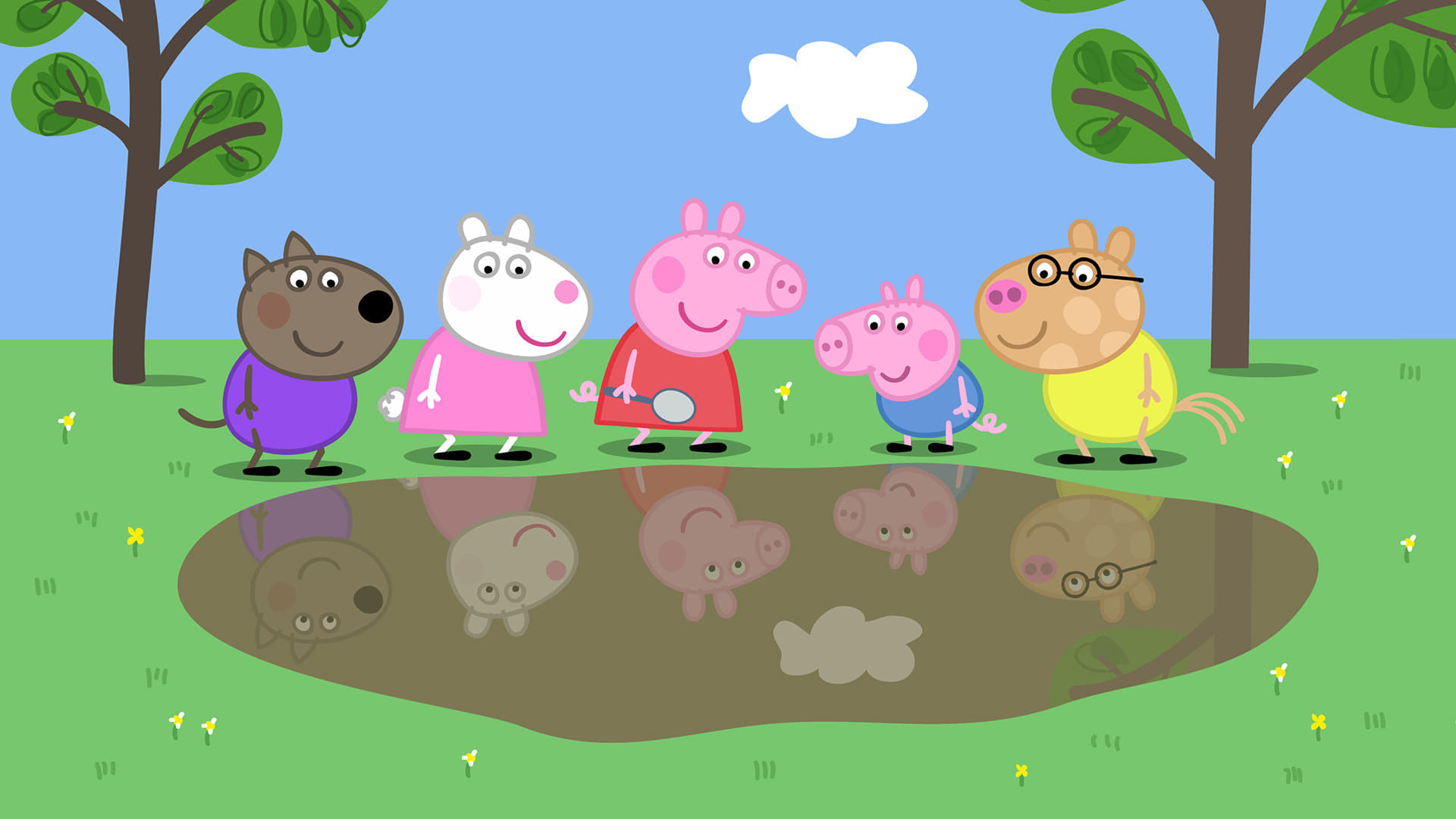 Peppa Pig Season 5 :Episode 3  Miss Rabbit's Taxi
