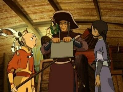 Avatar - Der Herr der Elemente Season 1 :Episode 9  Die Schriftrolle