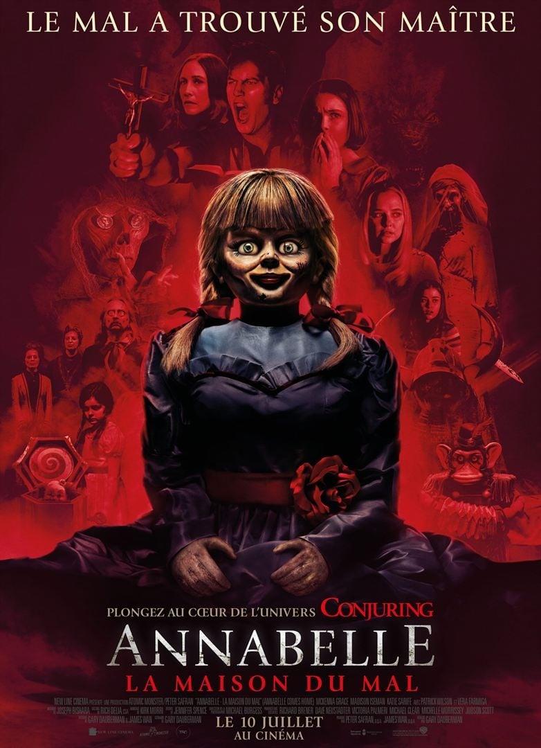 Annabelle - La maison du Mal streaming sur zone telechargement
