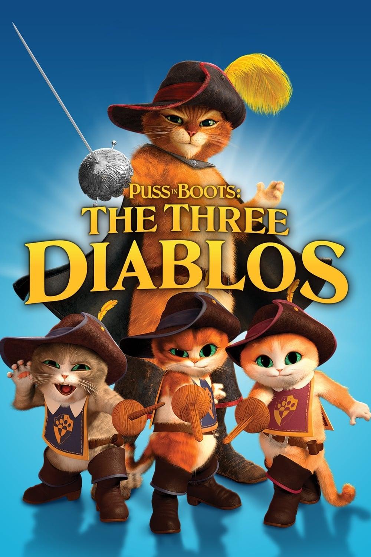 O Gato de Botas: Os Três Diabos Dublado
